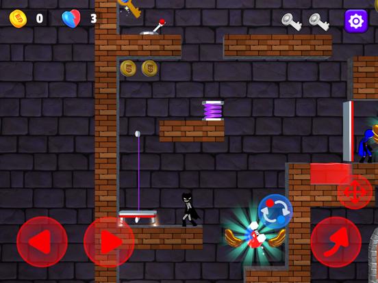 Red And Blue Stickman 3D 2021のおすすめ画像1