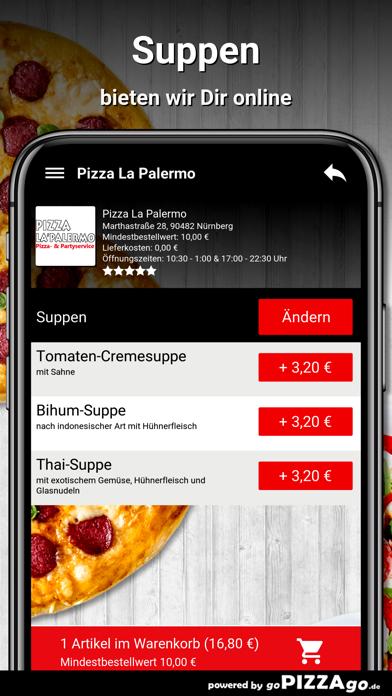 Pizza La Palermo Nürnberg screenshot 5