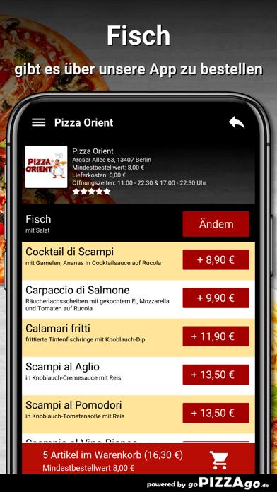 Pizza Orient Berlin screenshot 6
