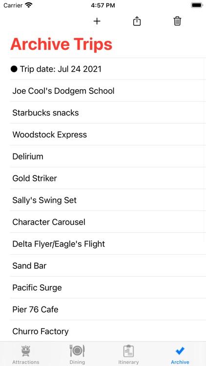 ThemeParkChecklist:Santa Clara screenshot-3