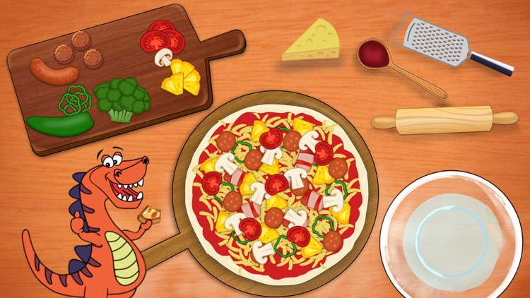 Dino Fun - Kids learning games screenshot-4