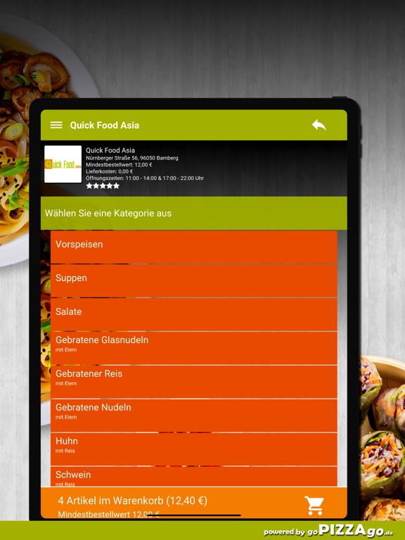 Quick Food Asia Bamberg screenshot 8