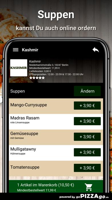 Kashmir Berlin screenshot 4