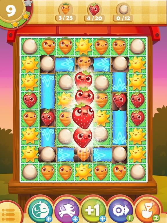 Farm Heroes Saga iPad app afbeelding 4