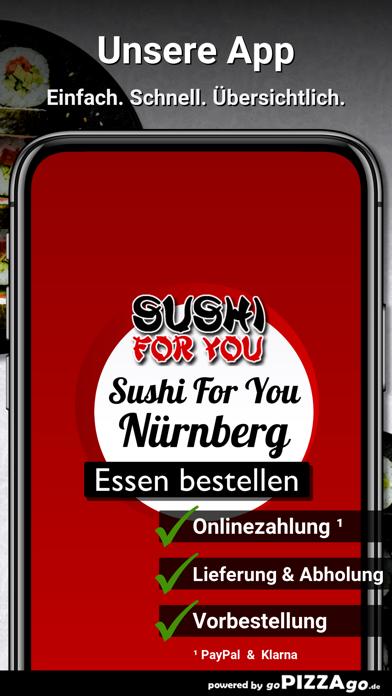 Sushi For You Nürnberg screenshot 1