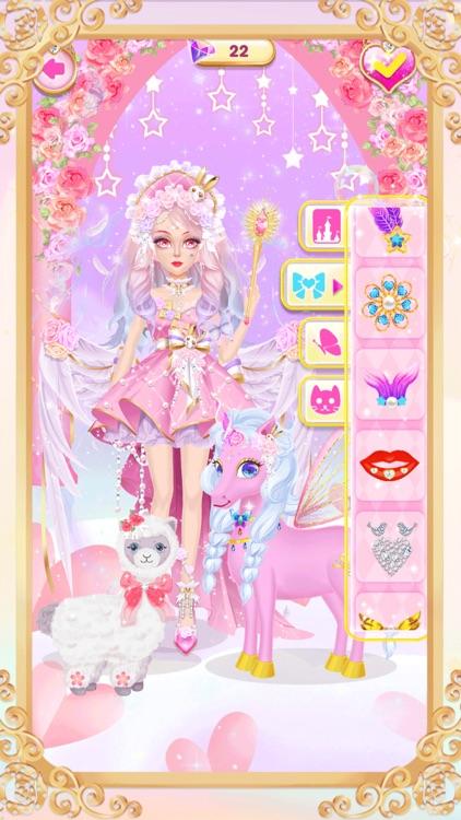 Princess unicorn dress up game