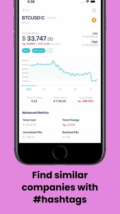 Stox: Stock & Crypto Widget screenshot-3