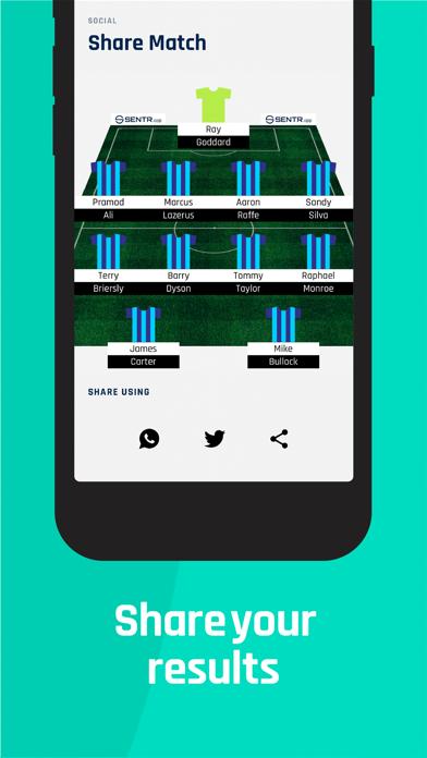 Sentr: Football screenshot 6