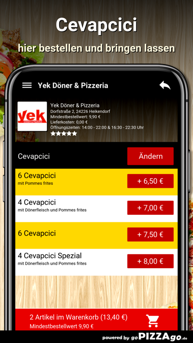 Yek Döner Heikendorf screenshot 6