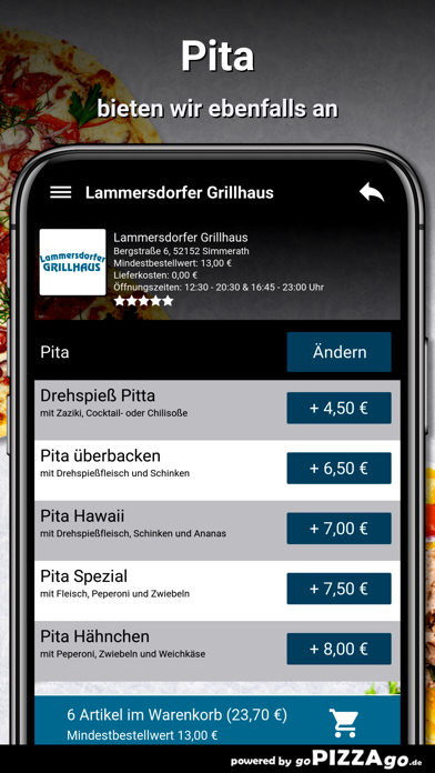 Grillhaus Simmerath screenshot 6