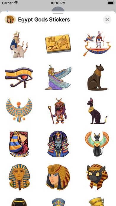 Egypt Gods Stickers screenshot 2
