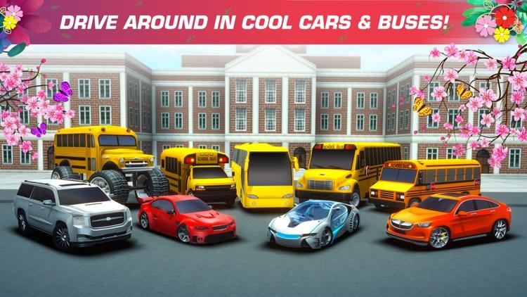 School Bus Simulator Drive 3D screenshot-3