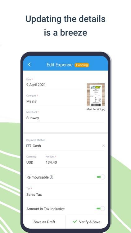 Avaza Expenses screenshot-3