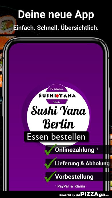 Sushi Yana Berlin screenshot 1