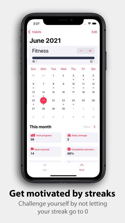 Quitter - Daily Habit Tracker screenshot-3