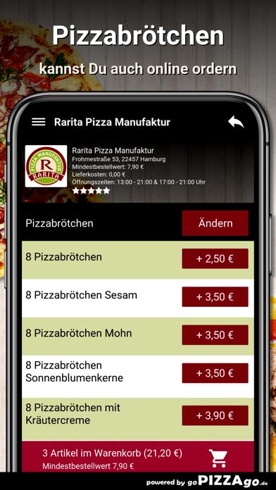 Rarita Pizza Hamburg screenshot 5