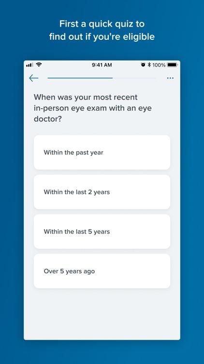 Virtual Vision Test