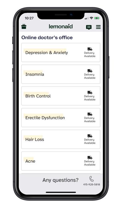Lemonaid: telehealth & rx medsScreenshot of 5