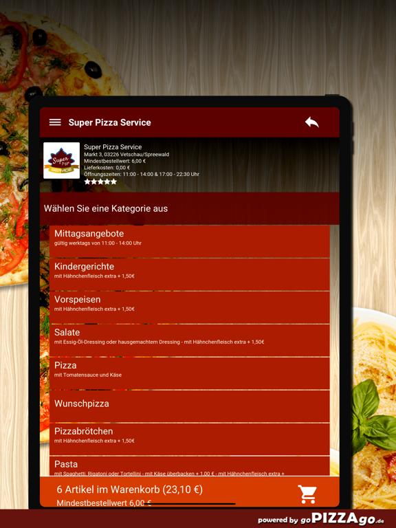 Super Pizza Vetschau/Spreewald screenshot 8