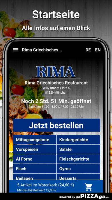 Rima München screenshot 2