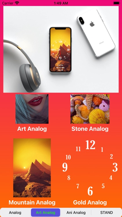 Analog Clock-OLEDX Large Clock screenshot-3