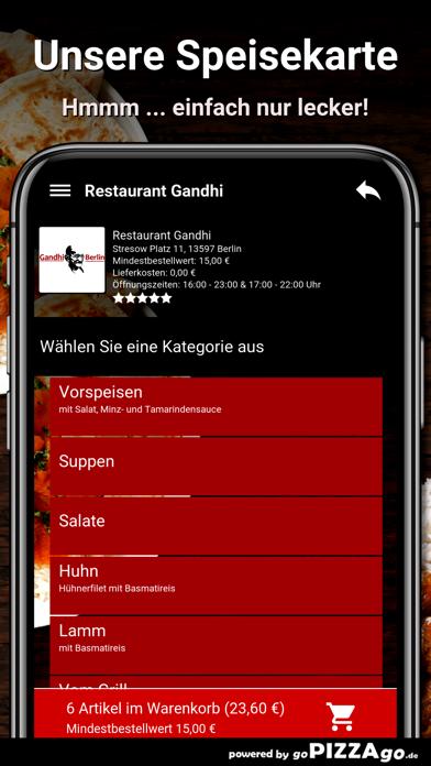 Restaurant Gandhi Berlin screenshot 4