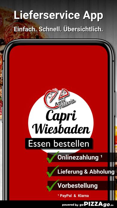 Pizzeria Capri Wiesbaden screenshot 1