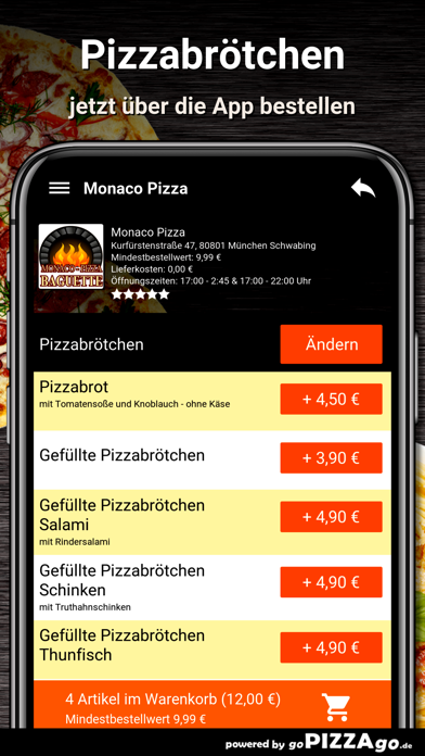 Monaco-Pizza München screenshot 5
