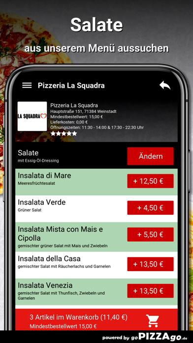 Pizzeria La Squadra Weinstadt screenshot 5