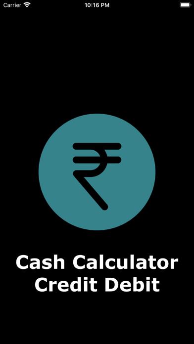 Cash Calculator Credit Debit紹介画像1