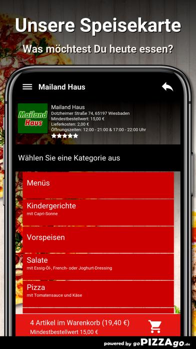 Mailand Haus Wiesbaden screenshot 4