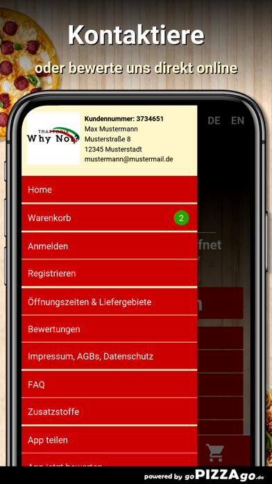 Trattoria Why Not? Duisburg screenshot 3