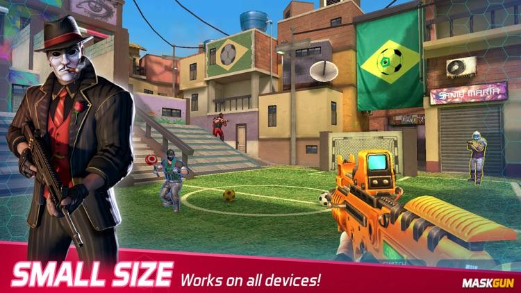 MaskGun: Online PvP FPS game screenshot-9