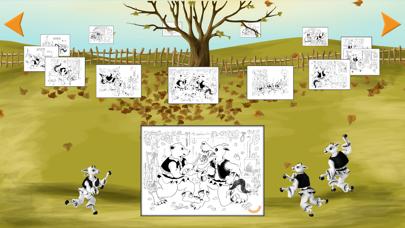 Coloreaza Capra cu Trei Iezi screenshot 2