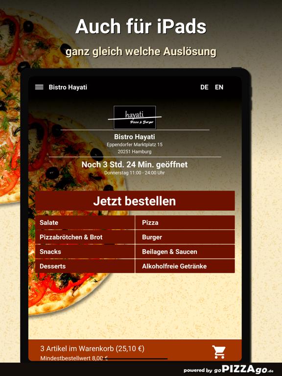 Bistro Hayati Hamburg screenshot 7