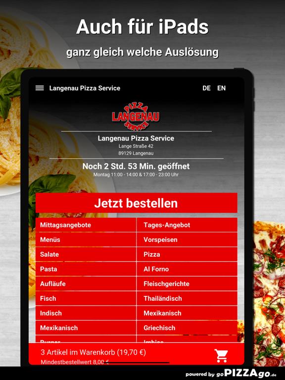 Langenau Pizza Service Langena screenshot 7