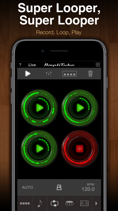 AmpliTube Jimi Hendrix™ ScreenShot3