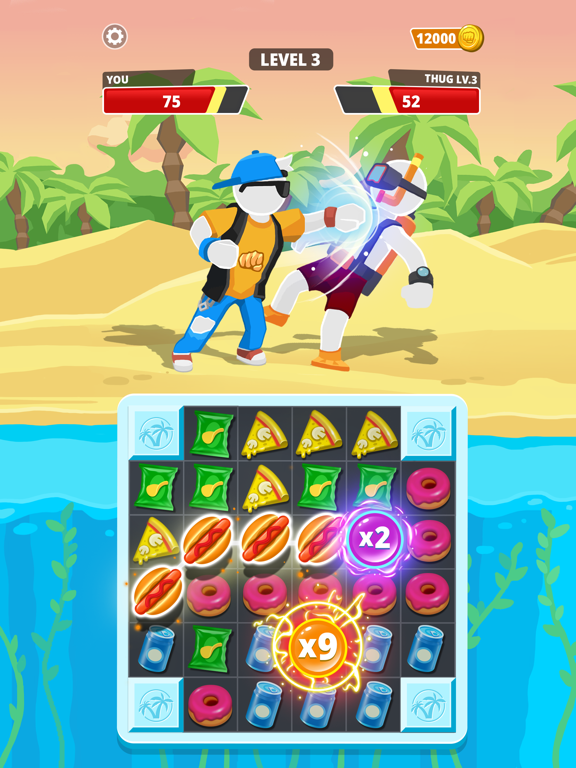 Match Hit - Puzzle Fighter screenshot 13