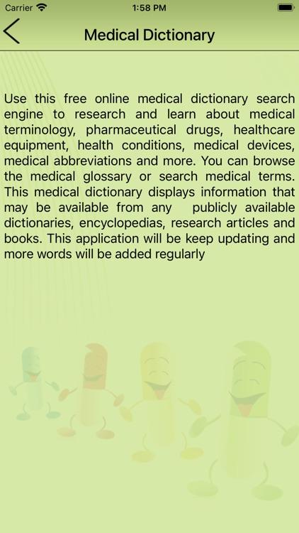 Medical Dictionary- Offline screenshot-6