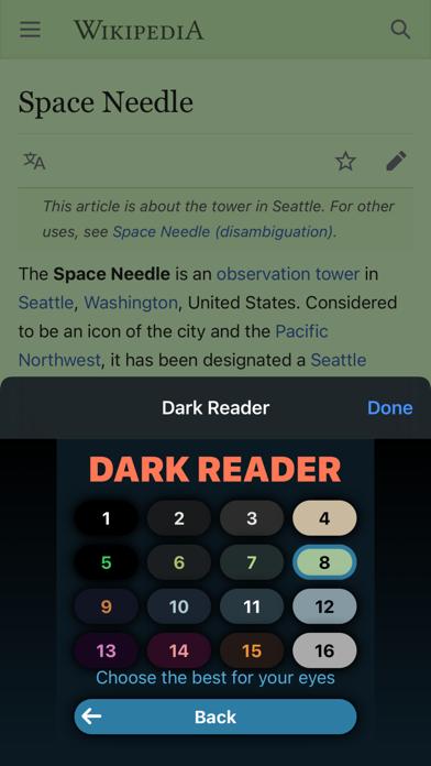 Dark Reader for Safari