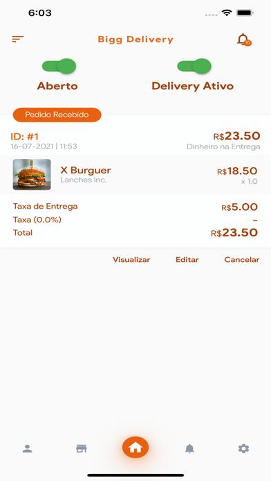 Bigg Delivery Estabelecimento screenshot 2