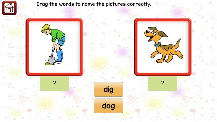 Learn 2 Read Vowels CVC Words screenshot-7