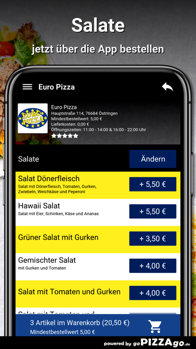Euro Pizza Östringen screenshot 5
