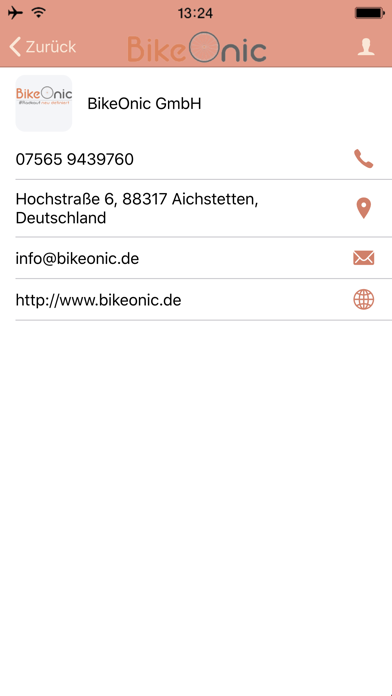 BikeOnic GmbHScreenshot von 2