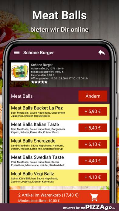 Schöne Burger Berlin screenshot 5