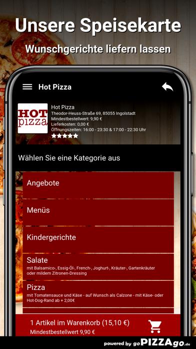 Hot Pizza Ingolstadt screenshot 4