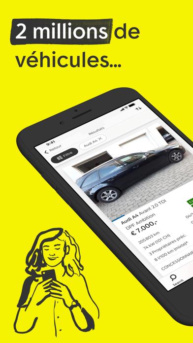 Screenshot #1 pour AutoScout24: marché automobile