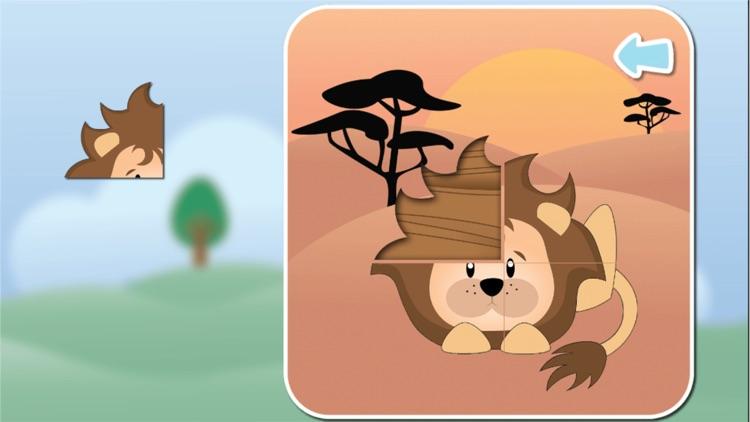 Animals - puzzle Game screenshot-3