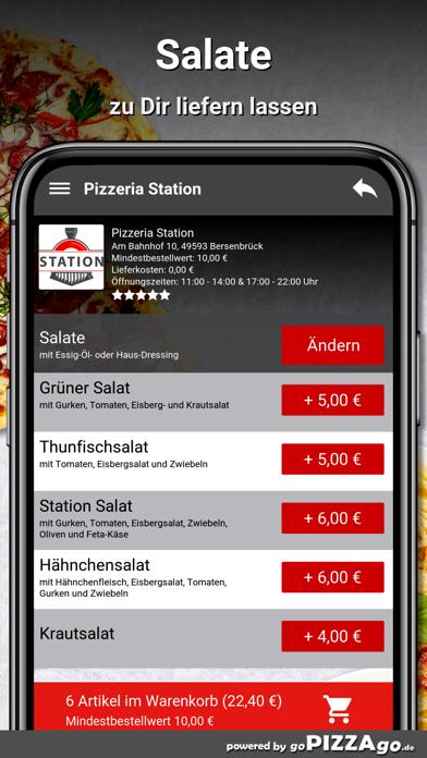 Pizzeria Station Bersenbrück screenshot 5