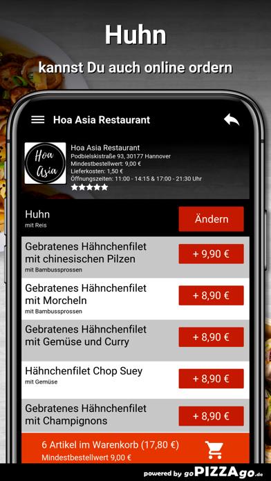 Hoa Asia Restaurant Hannover screenshot 5